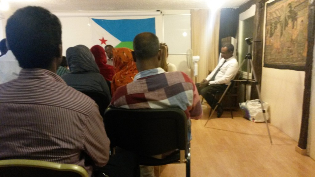photo 3 rencontre djib avec Ahmed Youssouf à Paris le 11-08-15