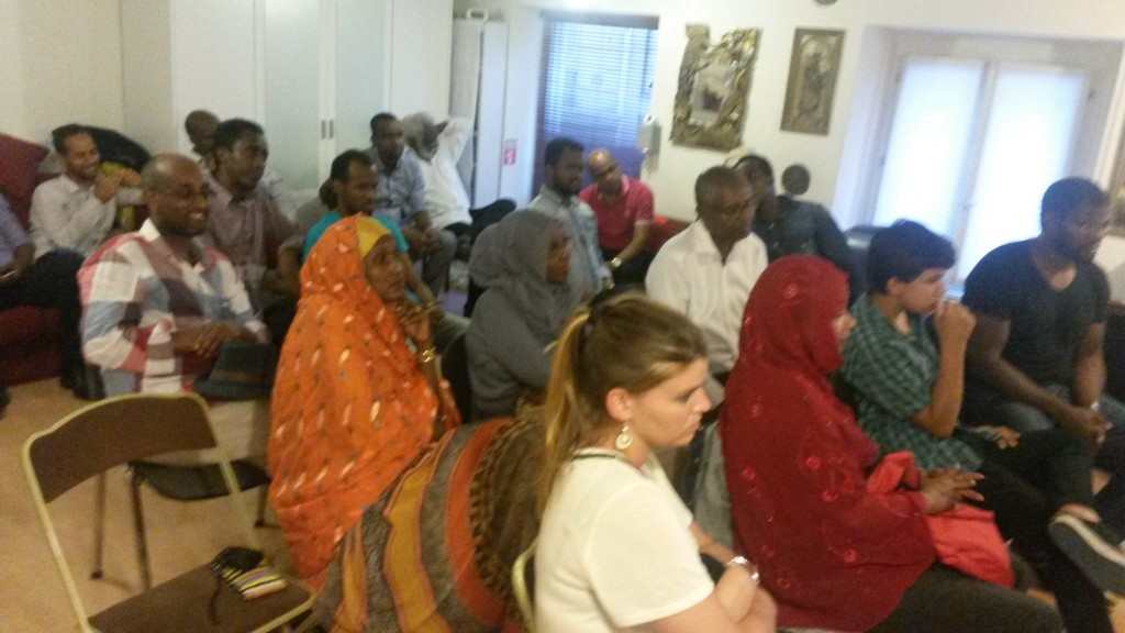 photo 5 rencontre djib avec Ahmed Youssouf à Paris le 11-08-15
