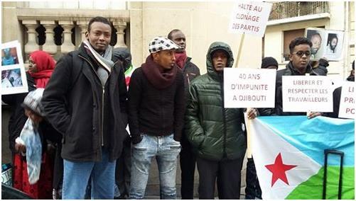Harcèlement de la famille du militant de l'ARD Farhan Barreh Bouni à Djibouti (18-02-18)