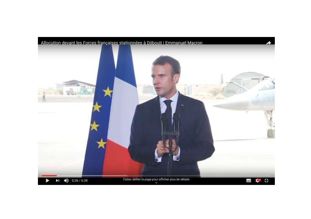 Allocution devant les Forces françaises stationnées à Djibouti | Emmanuel Macron (14-03-19)