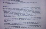 Lettre de l'enseignant Mohamed Moussa Mohamed au Ministre du travail (MENFOP, 16-06-19))