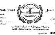 Communiqué de presse de l'Union Djiboutienne du Travail (UDT), 14-06-19