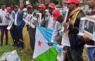 Journée des Martyrs. Commémoration à Bruxelles le 3 août 2019 face à l'ambassade de Djibouti (03-08-19)